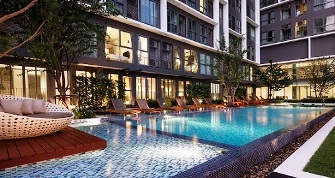 RE/MAX All Star Realty Agency's Brand New Ideo Mobi Sukhumvit 81 Penthouse Duplex for sale/rent 13