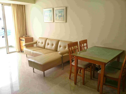 RE/MAX All Star Realty Agency's Two-bed condo River Heaven for rent (Charoenkrung Road) only 20,000 baht 1