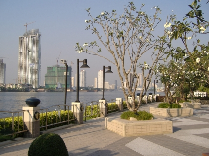 RE/MAX All Star Realty Agency's Two-bed condo River Heaven for rent (Charoenkrung Road) only 20,000 baht 8