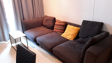 RE/MAX All Star Realty Agency's One Bedder (48sqm) at Circle Condo for Rent – walk to BTS Nana, ARL Makkasan, MRT Petchaburi 2