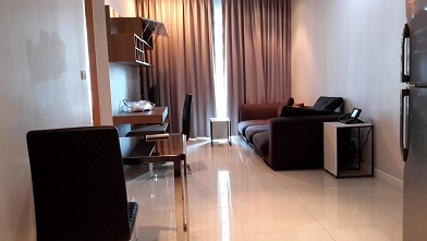 RE/MAX All Star Realty Agency's One Bedder (48sqm) at Circle Condo for Rent – walk to BTS Nana, ARL Makkasan, MRT Petchaburi 1