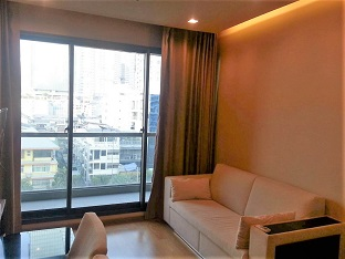 RE/MAX All Star Realty Agency's Prime Luxurious Two-Bed Condo full furnished for rent at The Address Sathorn (BTS Chong Nonsi) 1