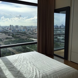 RE/MAX All Star Realty Agency's One Bedder (48sqm) Circle 2 Living Prototype Condo Rent cheap – walk to BTS Nana 3