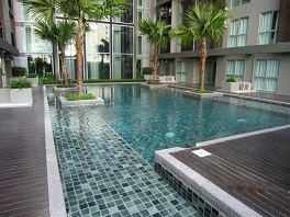RE/MAX All Star Realty Agency's Full furnished Two Bed A Space Ratchada rent 18,000 baht only 5