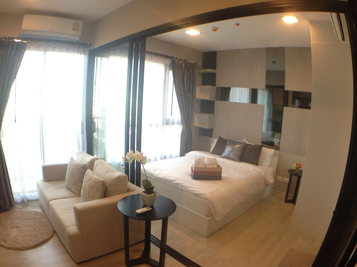 RE/MAX All Star Realty Agency's Condolette Mist Rent One Bed 20k only (walk MRT Phra Ram 9) 2