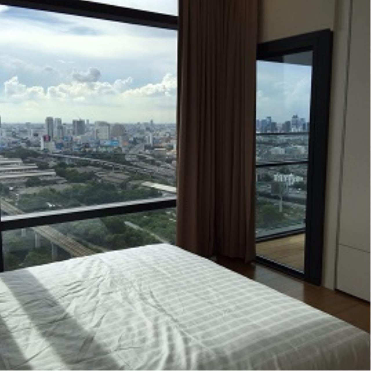 RE/MAX All Star Realty Agency's One Bedder (48sqm) Circle 2 Living Prototype Condo Rent cheap – walk to BTS Nana, ARL Makkasan, MRT Petchaburi 3