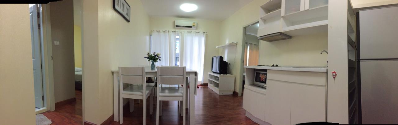 RE/MAX All Star Realty Agency's Full furnished Two Bed A Space Ratchada rent 18,000 baht only 1