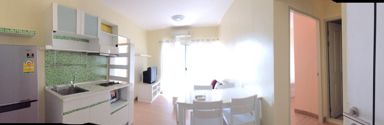 RE/MAX All Star Realty Agency's Full furnished Two Bed A Space Ratchada rent 18,000 baht only 2