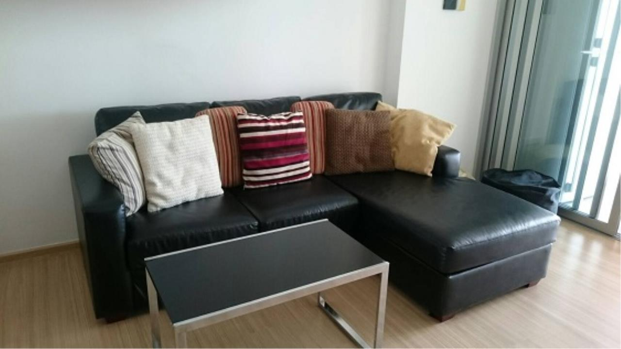 RE/MAX All Star Realty Agency's Rhythm Sukhumvit 50 One-Bed Condo fully furnished for rent 22,000 Baht at (BTS On Nut)   1