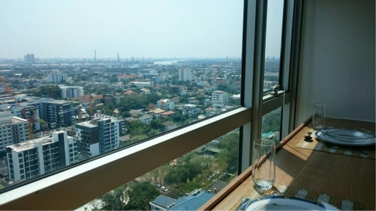 RE/MAX All Star Realty Agency's Rhythm Sukhumvit 50 One-Bed Condo fully furnished for rent 22,000 Baht at (BTS On Nut)   3