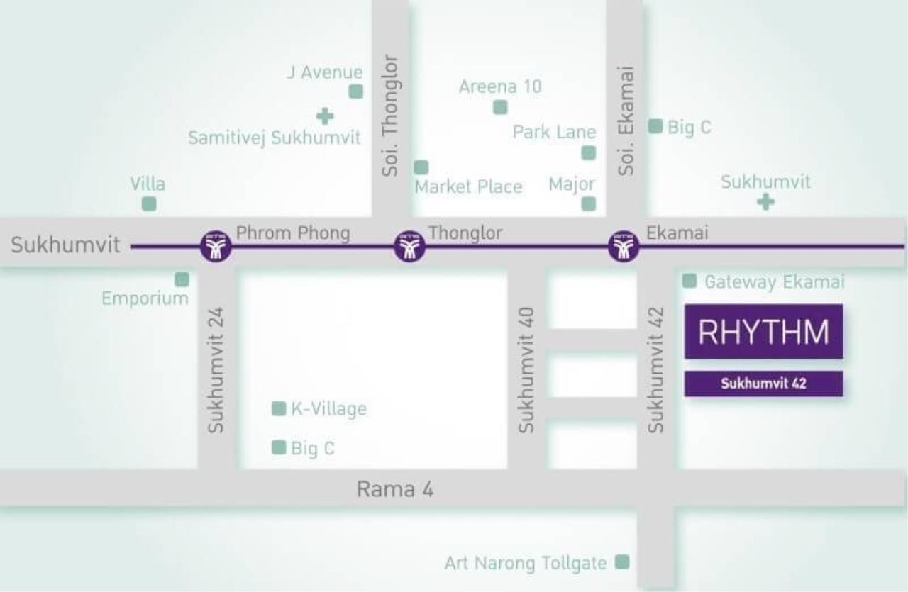 RE/MAX All Star Realty Agency's Rhythm 42 New One Bed for rent (50m walk BTS Ekkamai) 12