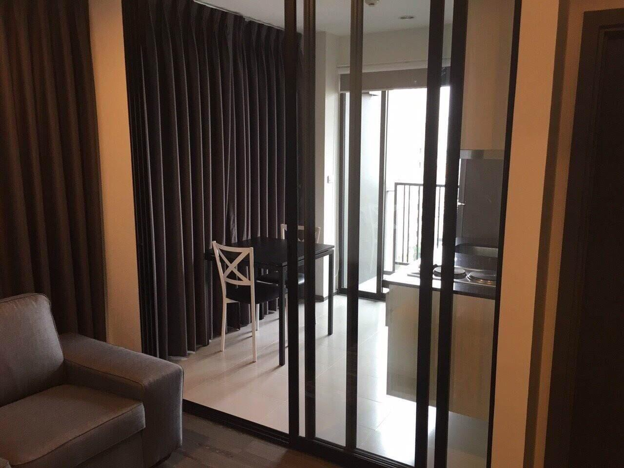 RE/MAX All Star Realty Agency's Basepark East One-Bed full furnished for rent 15,000 Baht neg (BTS On Nut) 1