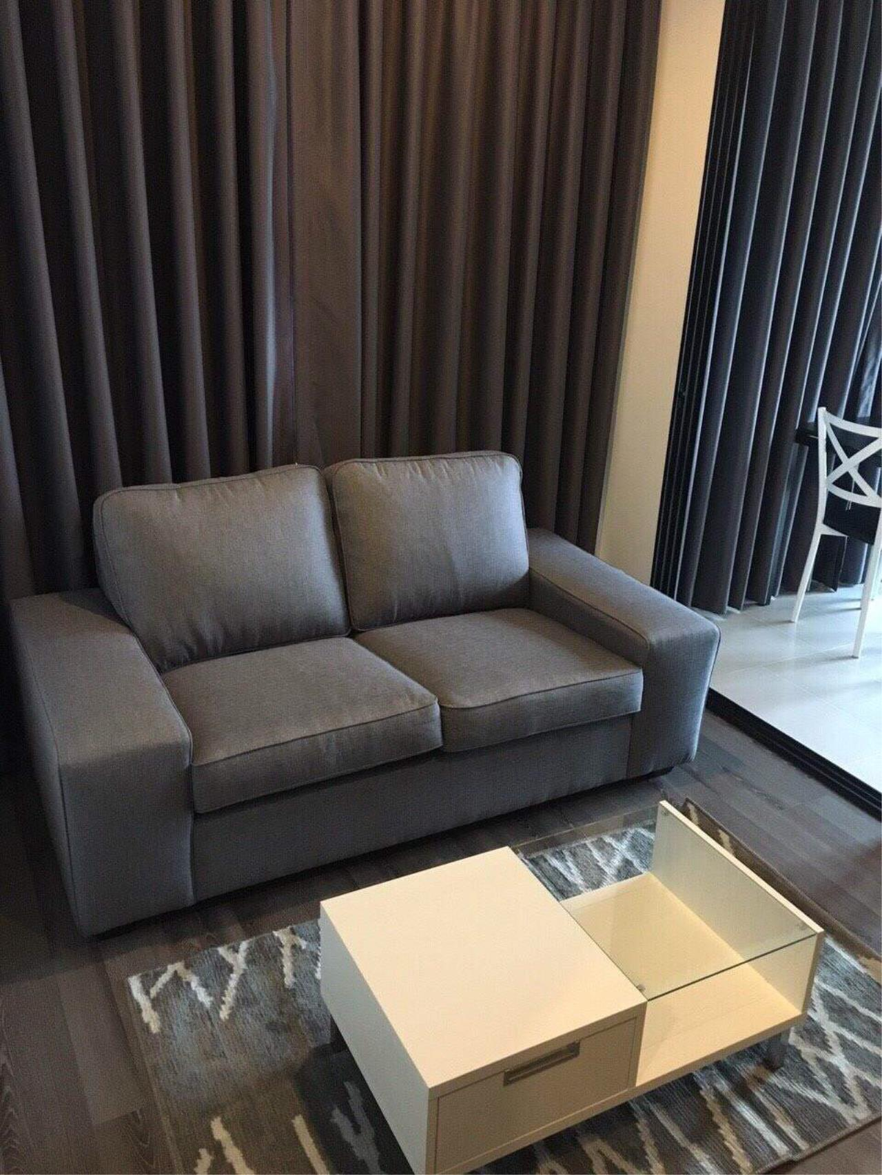 RE/MAX All Star Realty Agency's Basepark East One-Bed full furnished for rent 15,000 Baht neg (BTS On Nut) 5