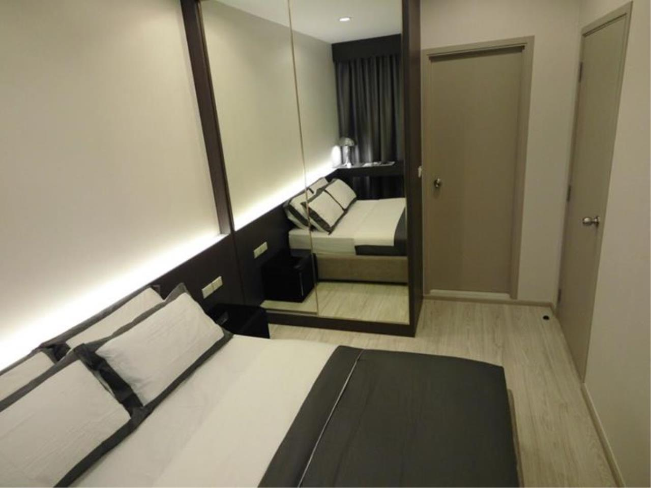 RE/MAX All Star Realty Agency's Ideo Mobi Eastgate, 1 bedroom, high floor for rent. Near BTS Bangna 9