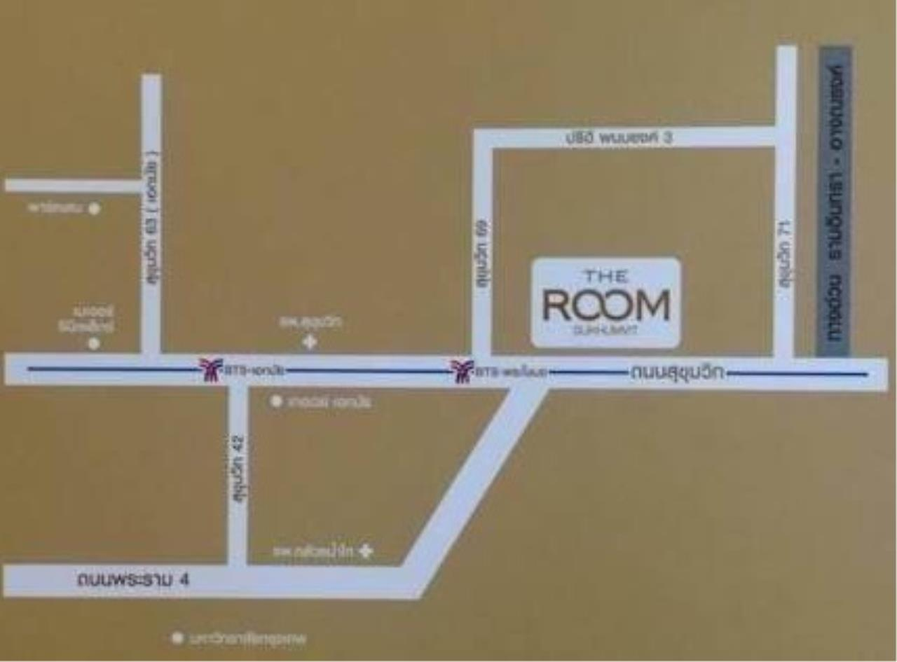 RE/MAX All Star Realty Agency's The Room69 one bed for rent (BTS Phra Kanong) 8