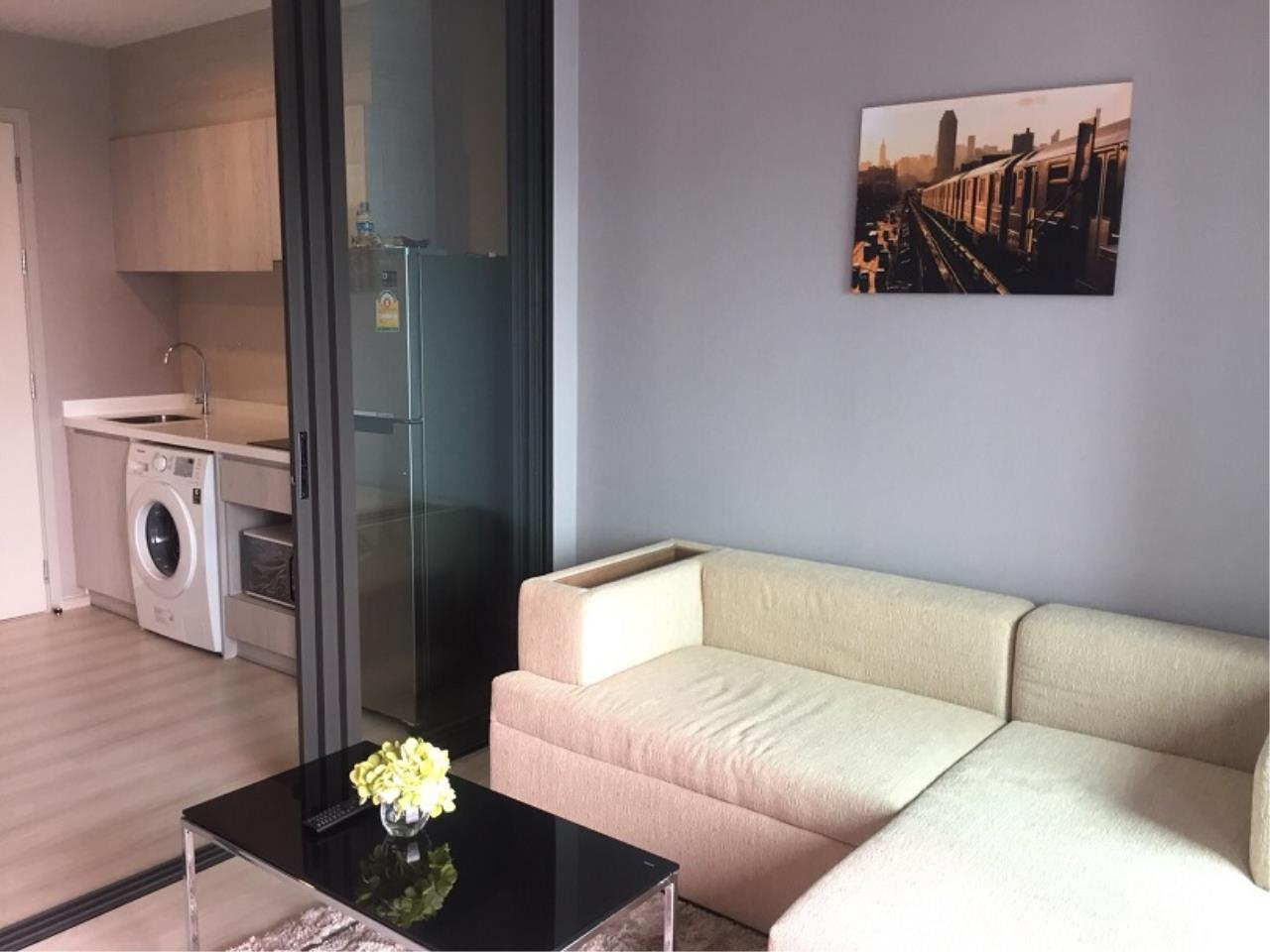 RE/MAX All Star Realty Agency's Life Sukhumvit 48 one-bed for rent  4