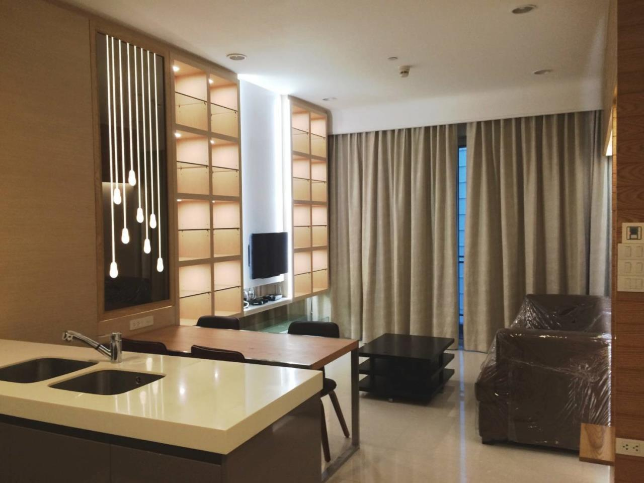 RE/MAX All Star Realty Agency's Lavish Q Langsuan two bed for rent (BTS Chidlom) 1