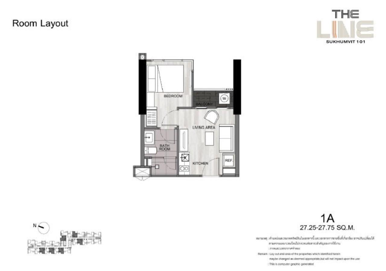 RE/MAX All Star Realty Agency's The Line Sukhumvit 101 for sale 3