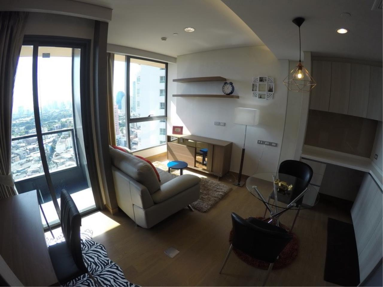 Piri Property Agency's one bedroom Condominiumon 21 floor For Rent 3