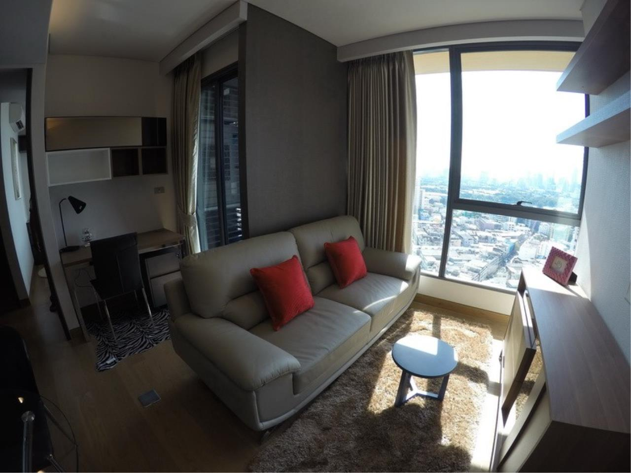 Piri Property Agency's one bedroom Condominiumon 21 floor For Rent 2