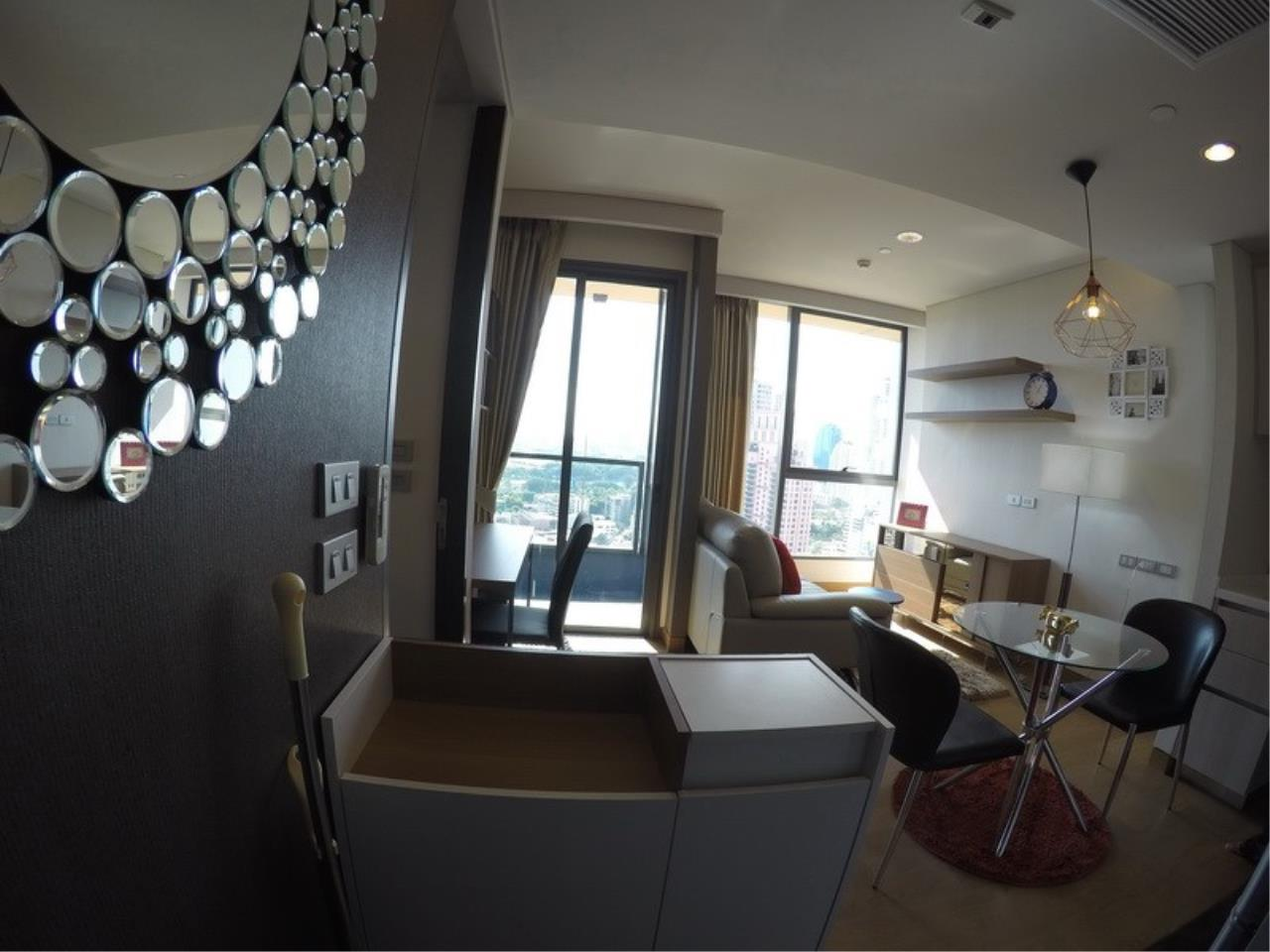 Piri Property Agency's one bedroom Condominiumon 21 floor For Rent 4
