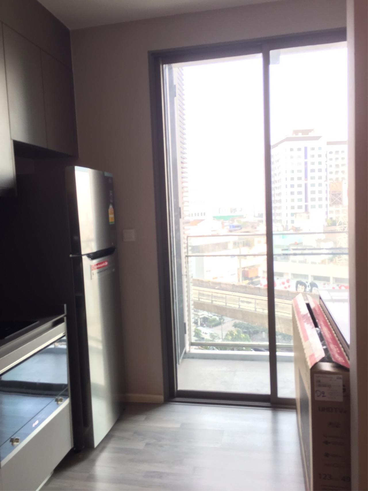 Piri Property Agency's one bedroom Condominiumon 8 floor For Rent 8