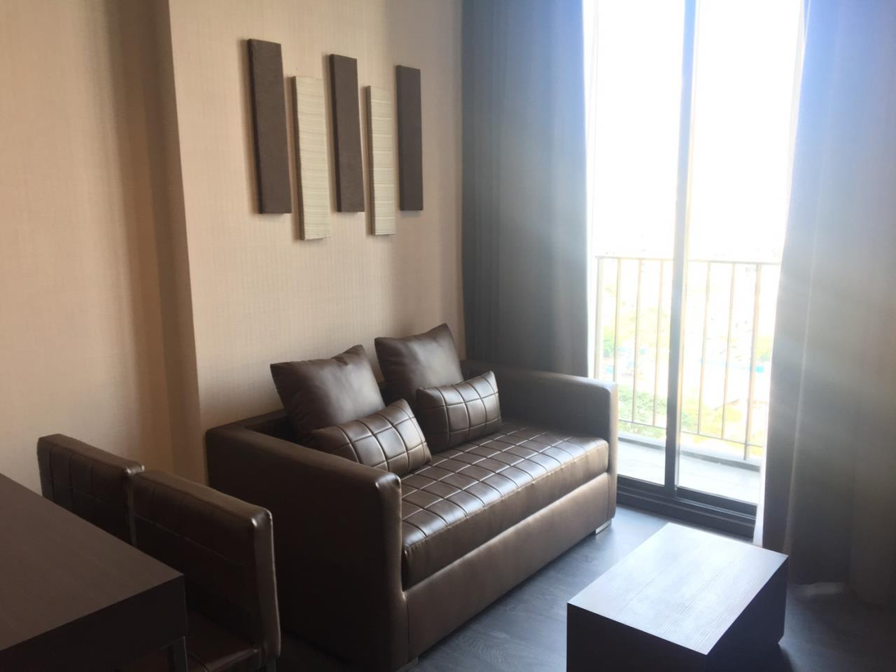 Piri Property Agency's one bedroom Condominiumon 9 floor For Rent 1