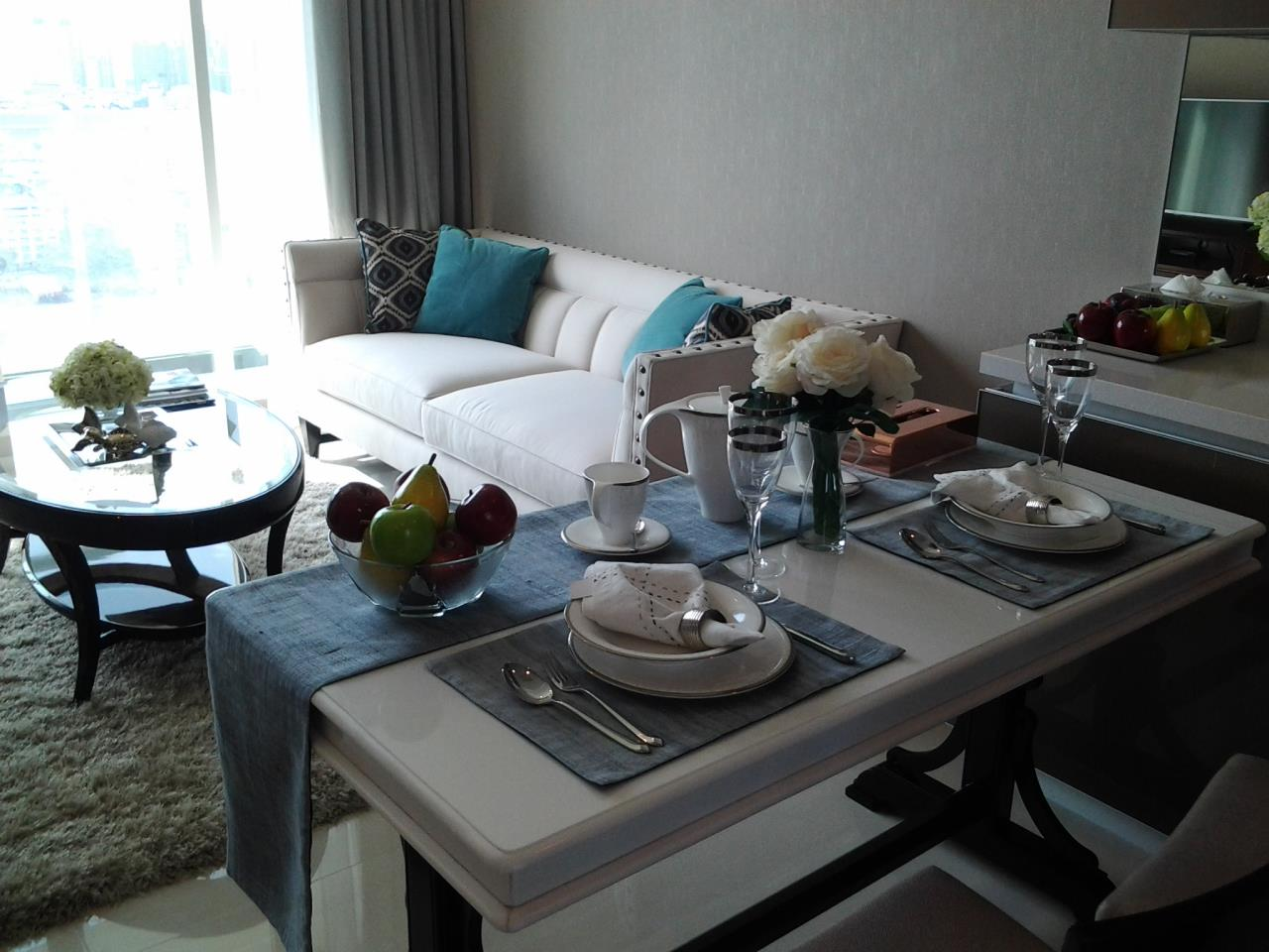 Piri Property Agency's one bedroom Condominiumon 19 floor For Rent 3