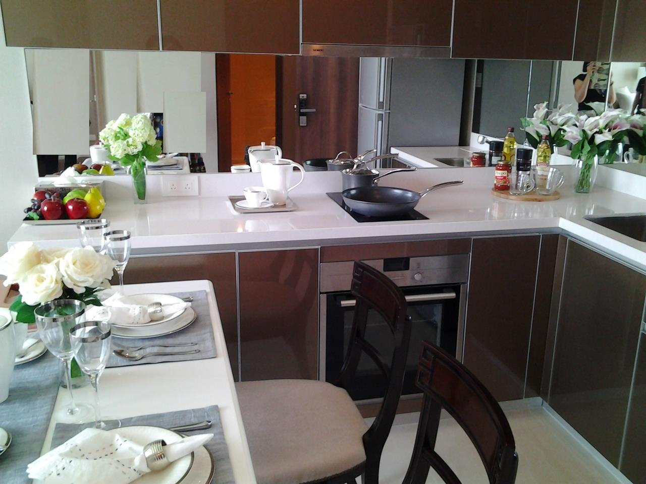 Piri Property Agency's one bedroom Condominiumon 19 floor For Rent 5