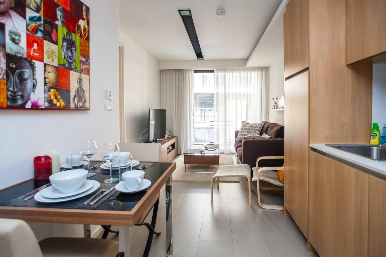 Piri Property Agency's one bedroom Condominiumon 5 floor For Rent 1
