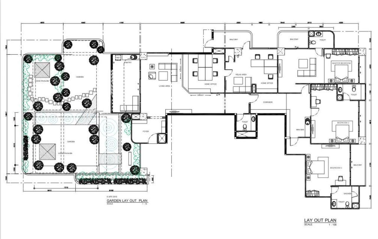 Piri Property Agency's 3+2 bedrooms Condominiumon 30 floor For Sale 16