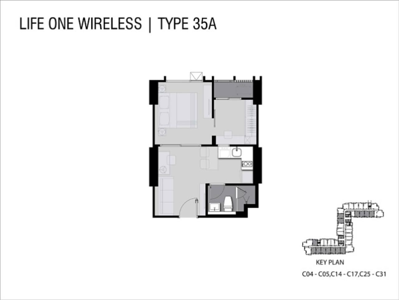 Piri Property Agency's one bedroom Condominiumon 33 floor For Sale 5