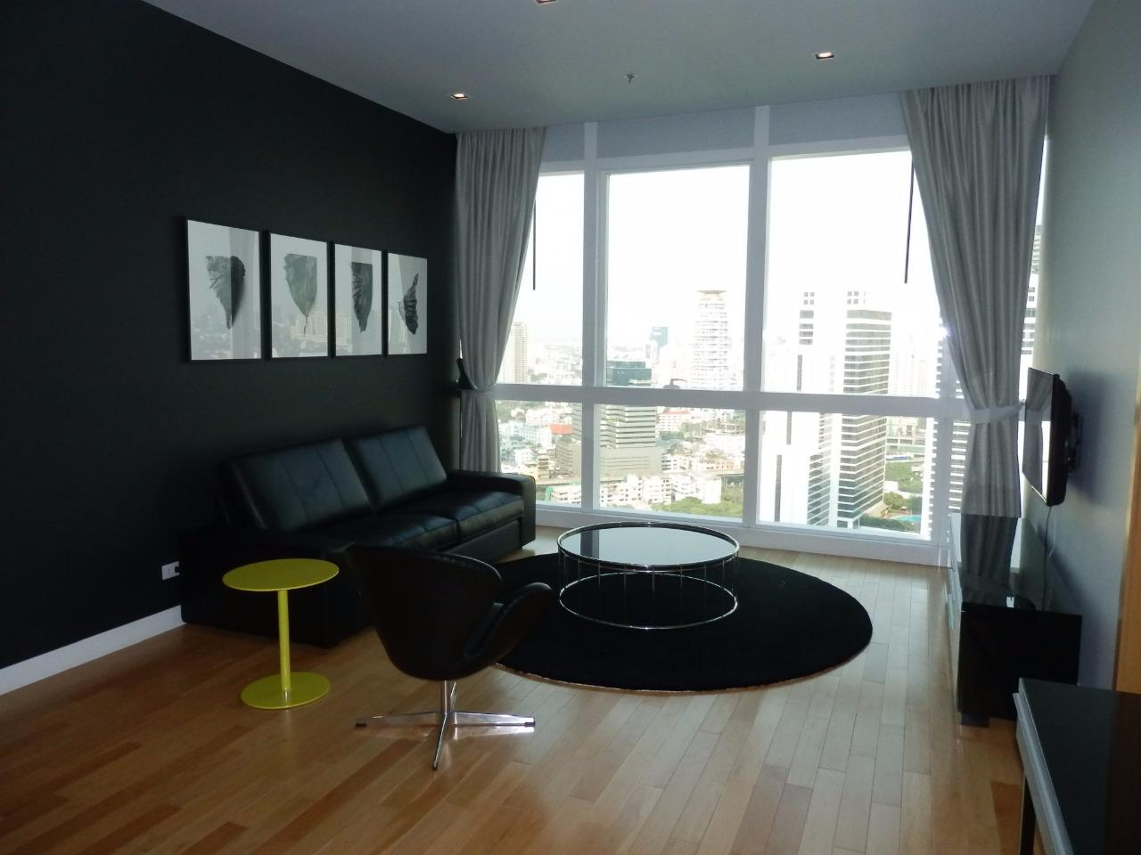 Piri Property Agency's 2 bedrooms Condominiumon 30 floor For Rent 1