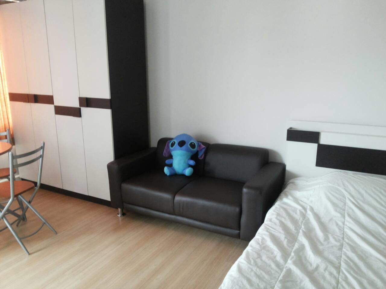 Piri Property Agency's studio bedrooms Condominiumon 17 floor For Rent 1