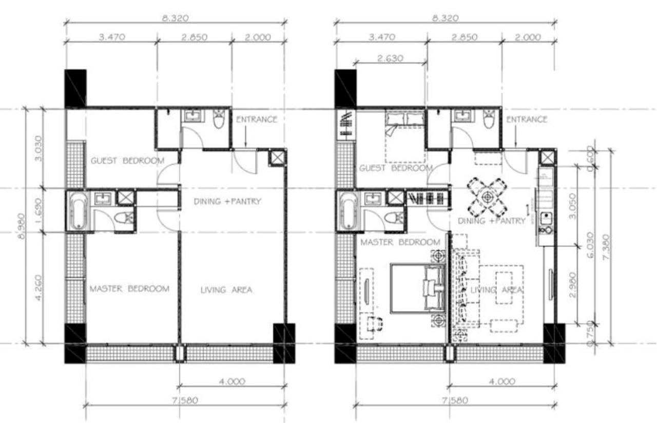 Piri Property Agency's 2 bedrooms Condominiumon 16 floor For Rent 15