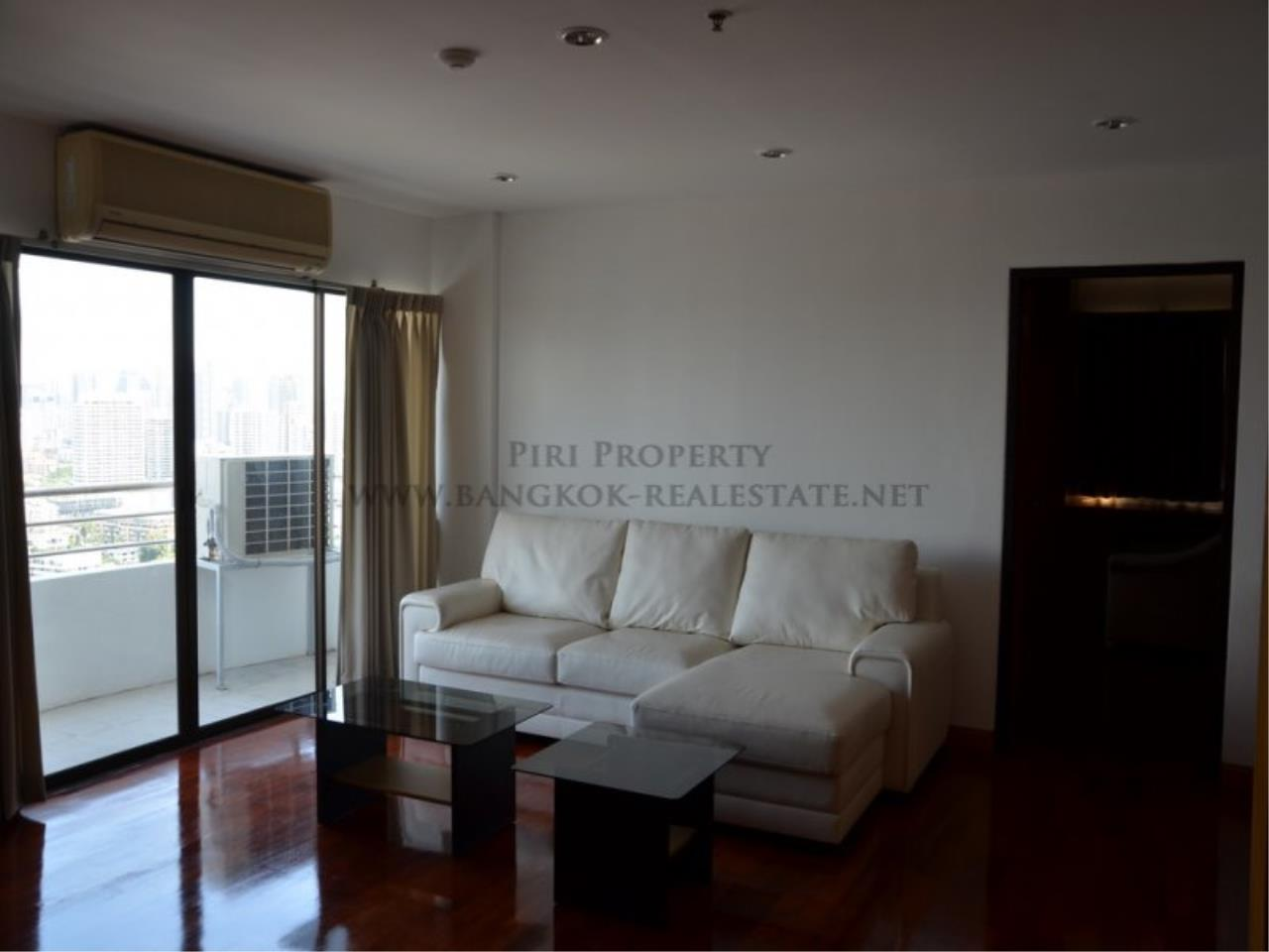 Piri Property Agency's Spacious 3 Bedroom Condo in Ekkamai - 128 SQM for 50K - Top View Tower - 30th Floor 3