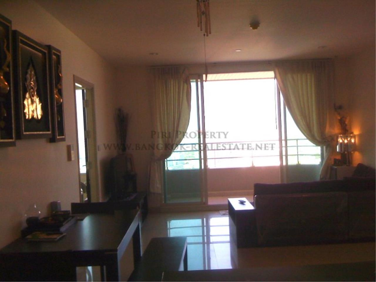Piri Property Agency's Nice 2 Bedroom Condo for Rent - Watermark Chaophraya - High Floor 2