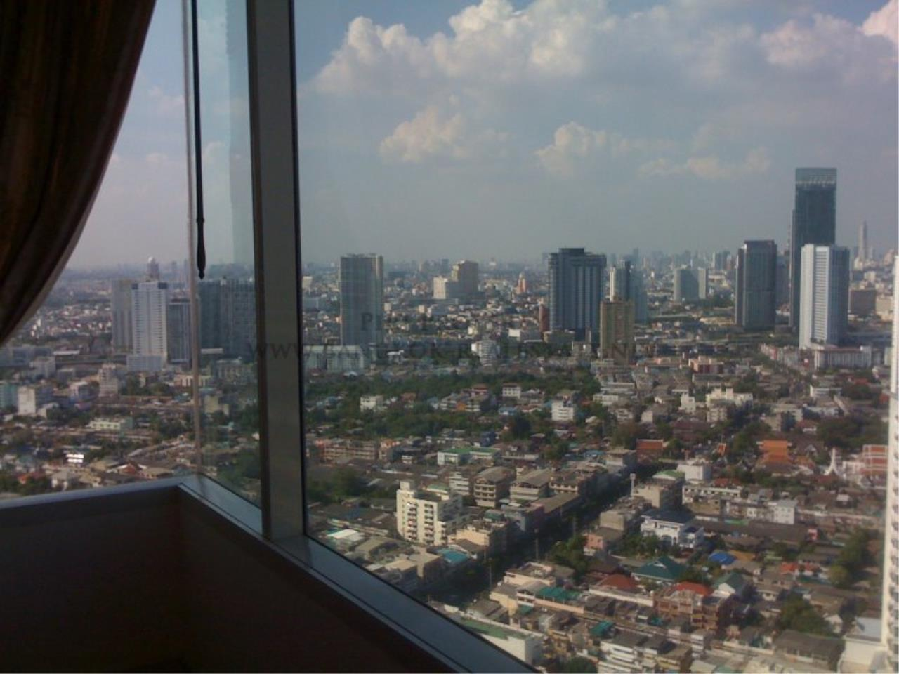 Piri Property Agency's Nice 2 Bedroom Condo for Rent - Watermark Chaophraya - High Floor 8