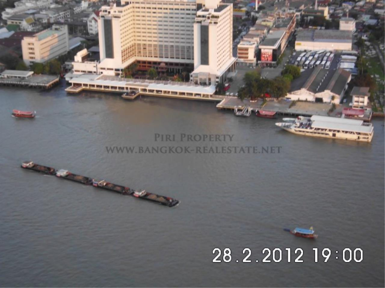 Piri Property Agency's Nice 2 Bedroom Condo for Rent - Watermark Chaophraya - High Floor 11