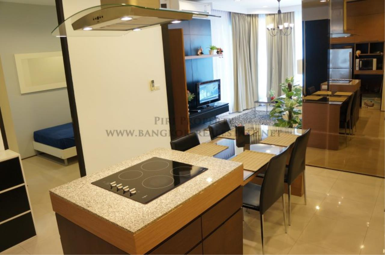 Piri Property Agency's Modern 2 Bedroom Condo in Asoke for Rent - 1 minute to the BTS station 4