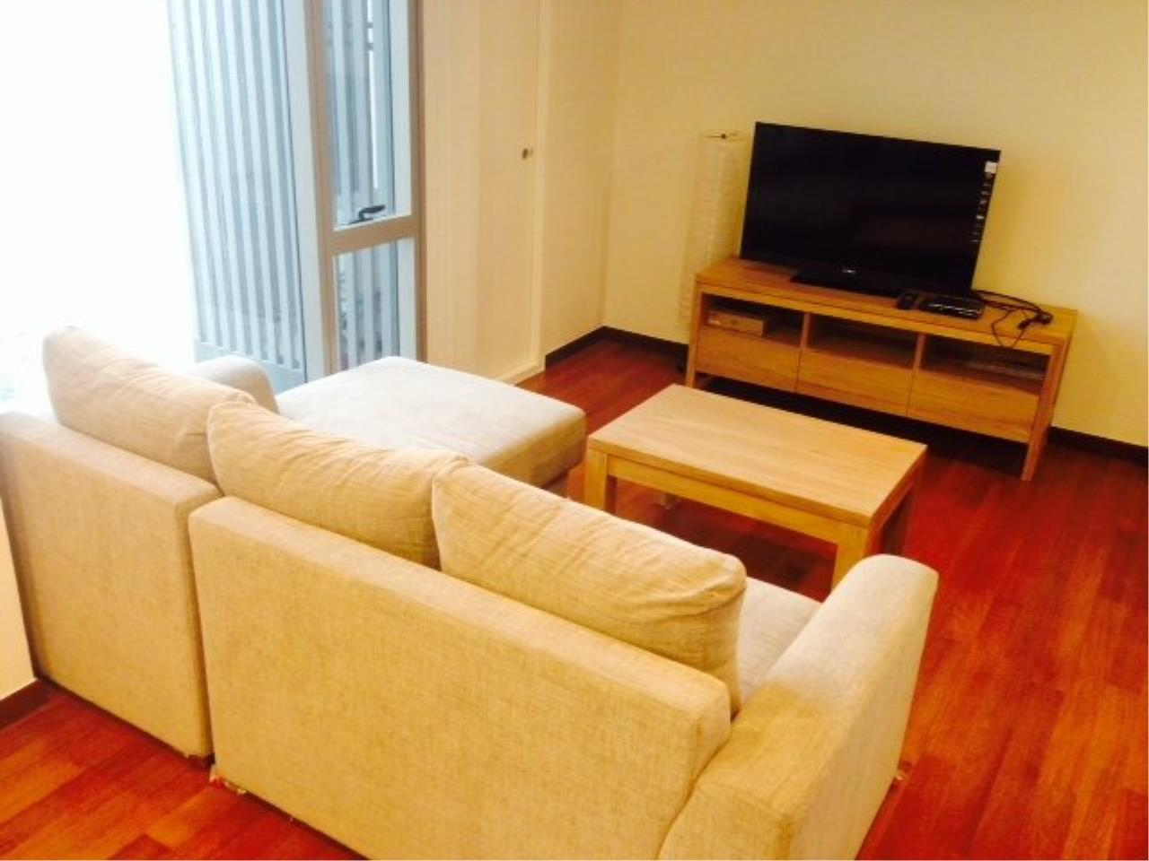 Piri Property Agency's Cozy 1 Bedroom Condo in the Ashton Bulding for rent on high floor 1