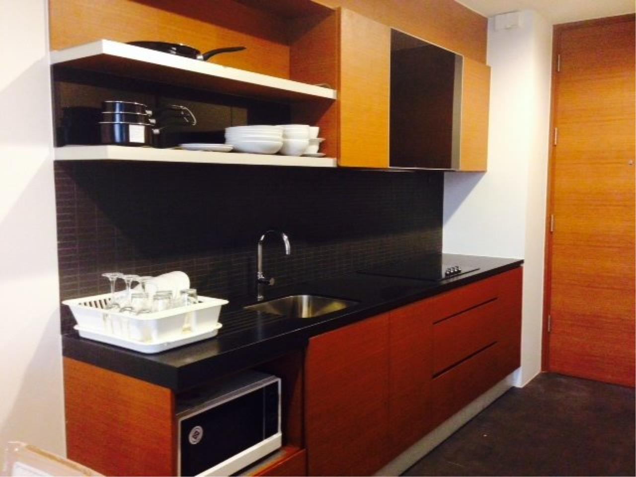 Piri Property Agency's Cozy 1 Bedroom Condo in the Ashton Bulding for rent on high floor 8