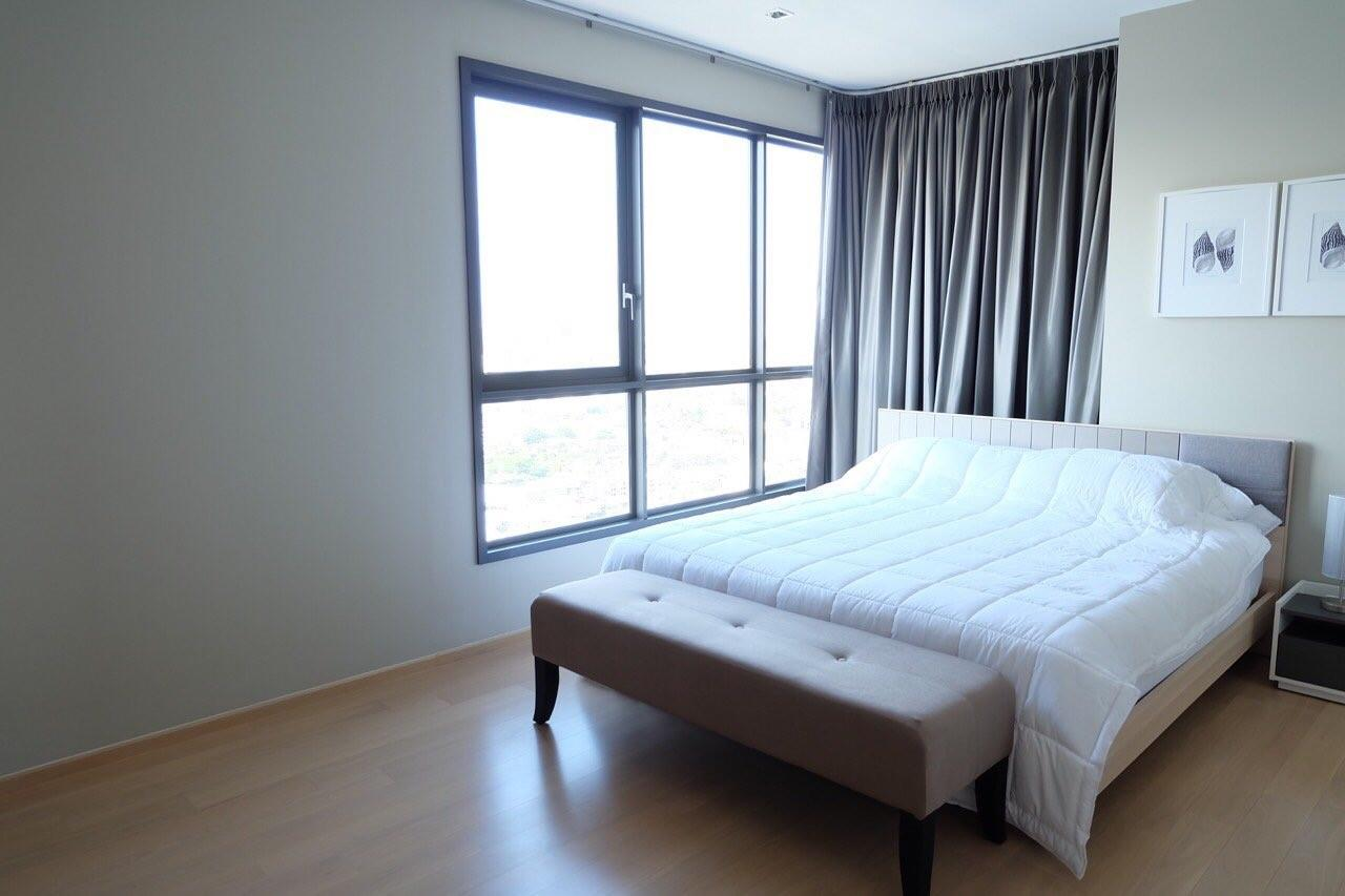 Piri Property Agency's Modern 2 Bedrooms in the HQ Condo for rent on high floor 4