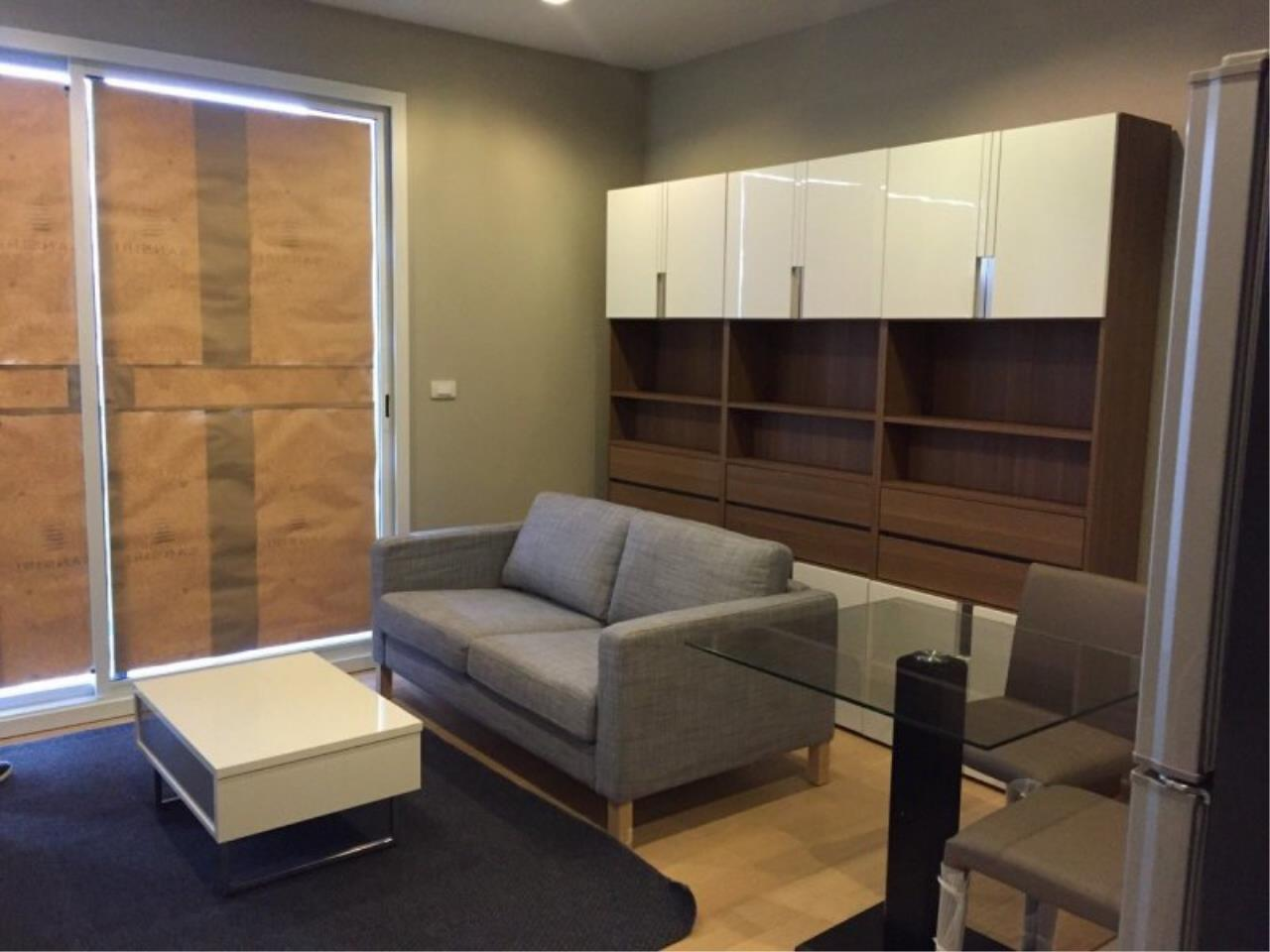 Piri Property Agency's Compact 1 Bedroom in the HQ Condo for rent on high floor 1