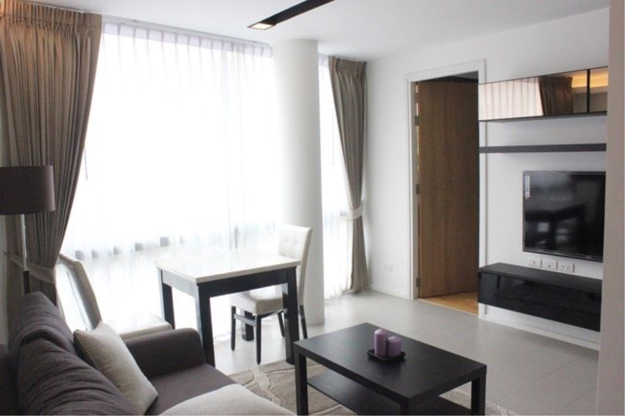 Piri Property Agency's Cozy 1 Bedroom Condo in the The Nest Ploenchit Bulding for rent on low floor 1