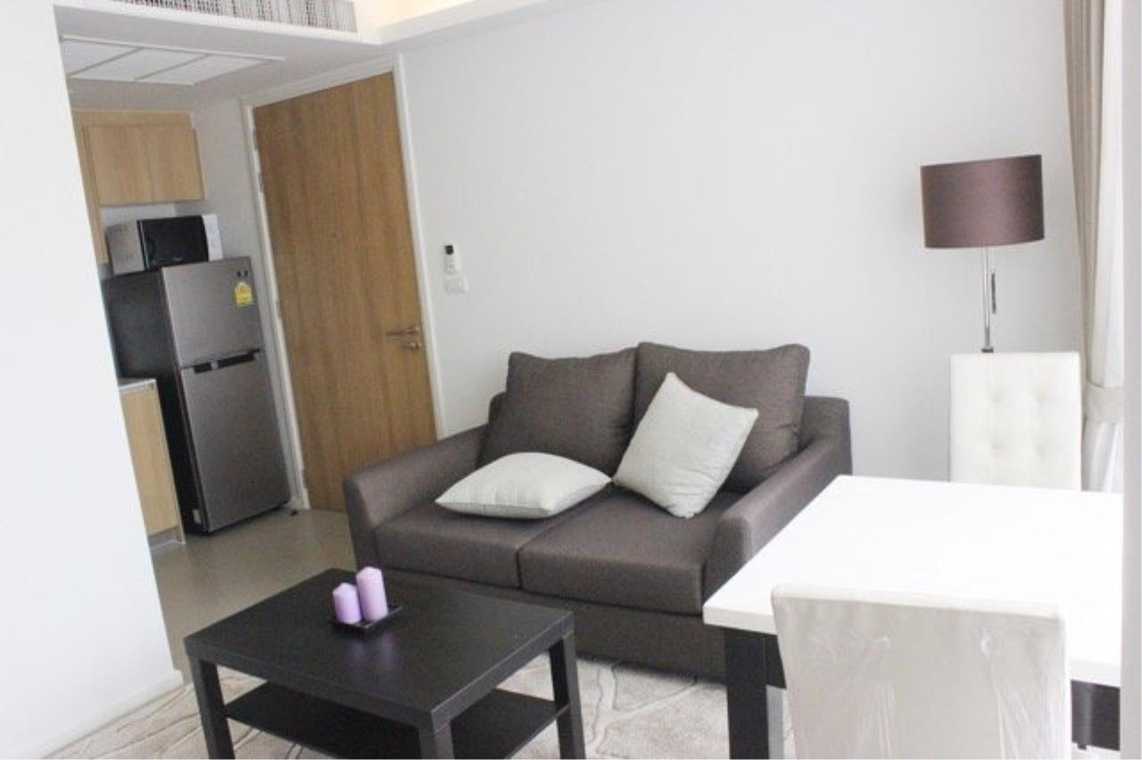 Piri Property Agency's Cozy 1 Bedroom Condo in the The Nest Ploenchit Bulding for rent on low floor 2