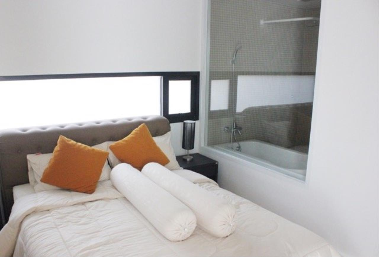 Piri Property Agency's Cozy 1 Bedroom Condo in the The Nest Ploenchit Bulding for rent on low floor 4