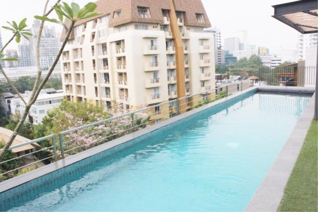 Piri Property Agency's Cozy 1 Bedroom Condo in the The Nest Ploenchit Bulding for rent on low floor 8