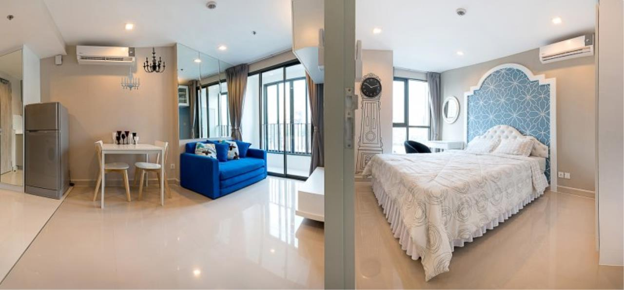 Piri Property Agency's Cozy 1 Bedroom in the IDEO Mobi Rama 9 Bulding for rent on low floor 1