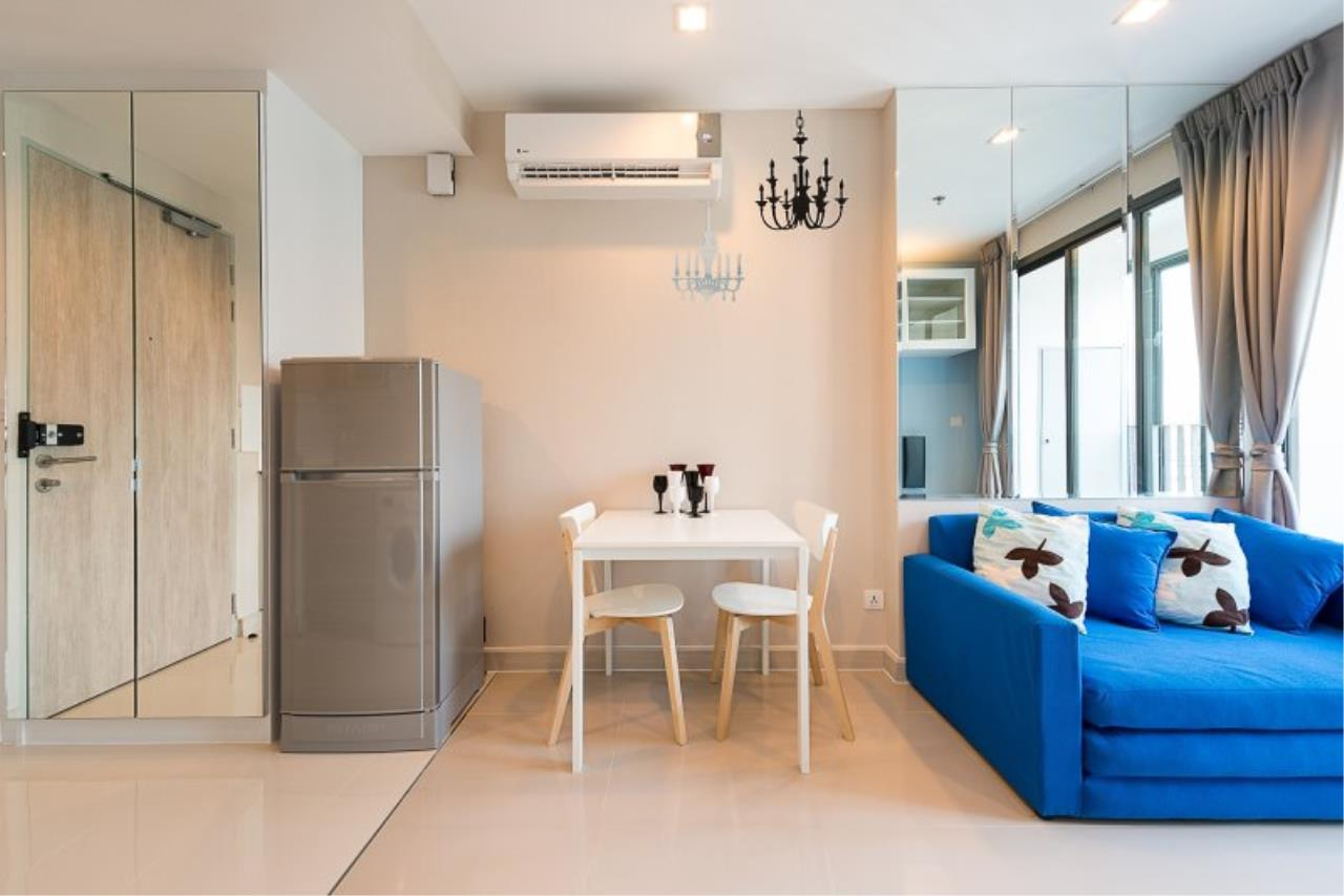 Piri Property Agency's Cozy 1 Bedroom in the IDEO Mobi Rama 9 Bulding for rent on low floor 5
